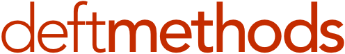 Deft Methods logo